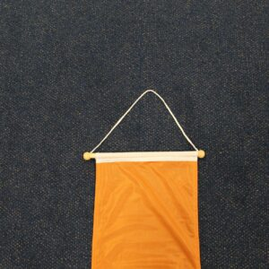 Oranje wimpel logo