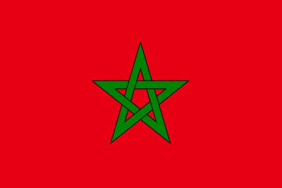 vlag marokko vlaggenkoning nl