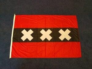 Amsterdamse vlag van Amsterdam