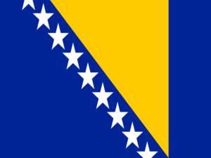Vlag Bosnie Herzegovina