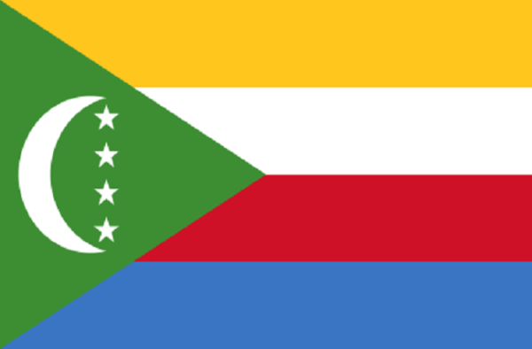 Vlag Comoren